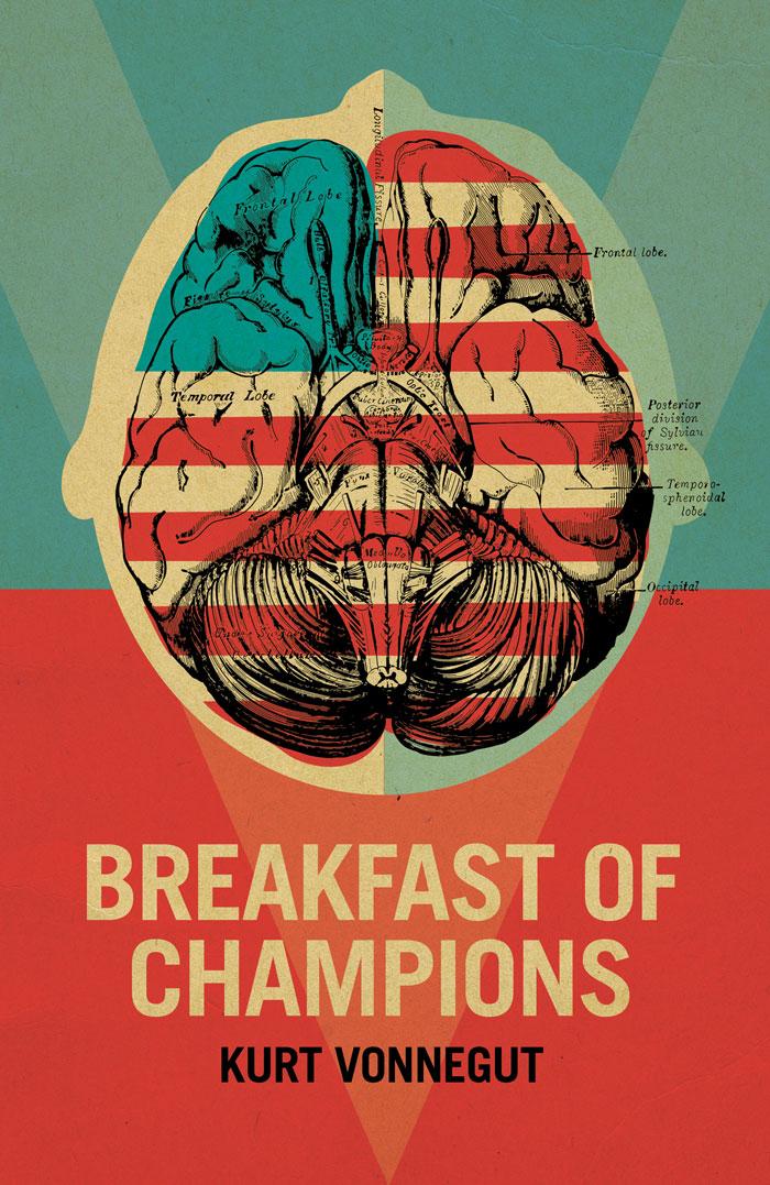 BREAKFAST OF CHAMPIONS ~ KURT VONNEGUT 1973 hardcover BCE